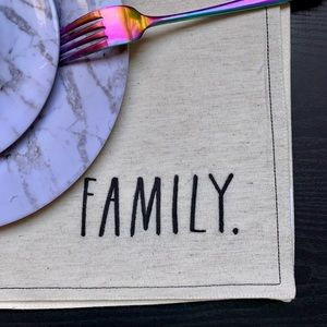 Rae Dunn Family Placemat 🍴✨